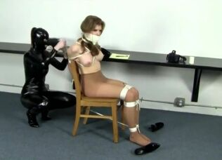 Latex bondage videos